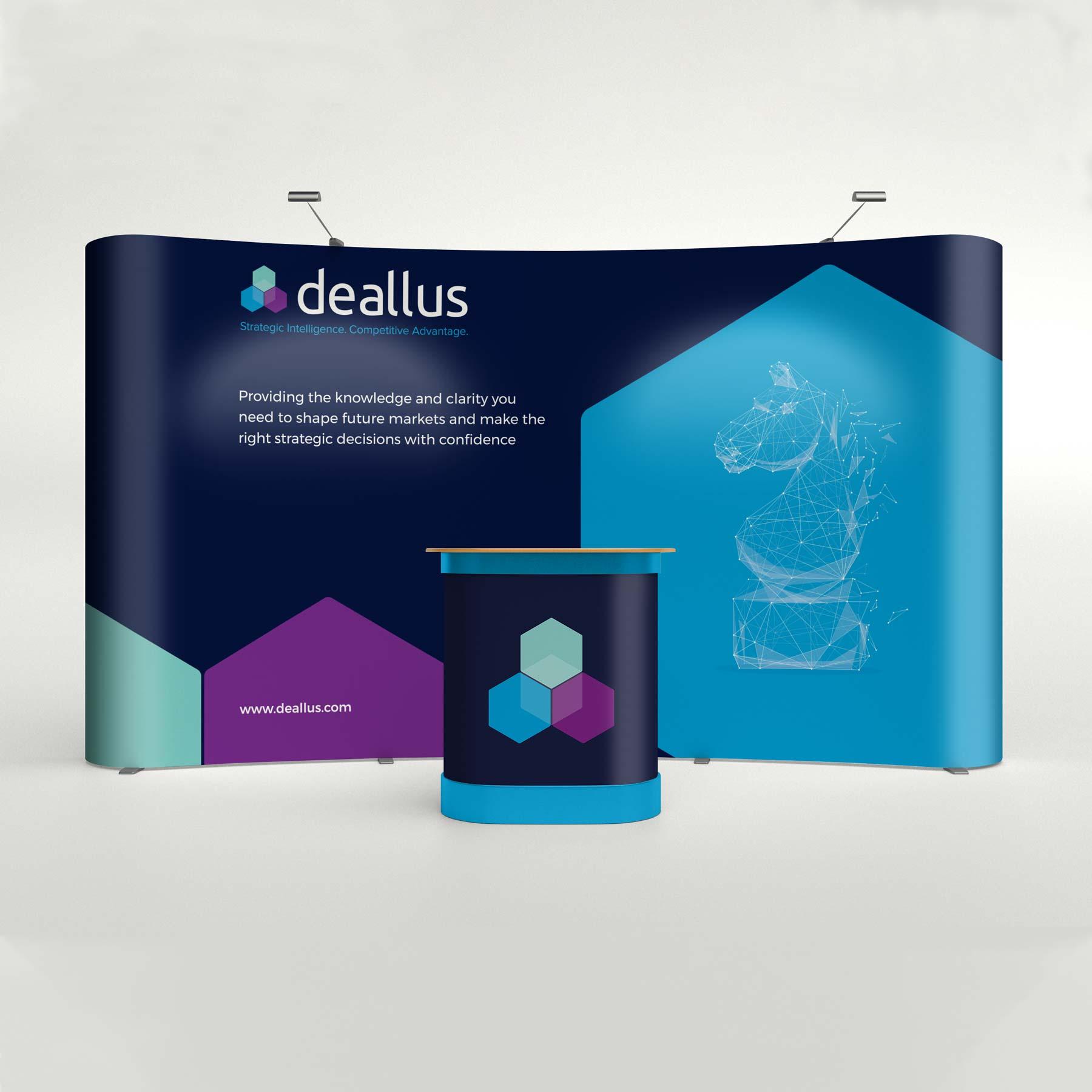 Deallus Banner Exhibition Stand Design