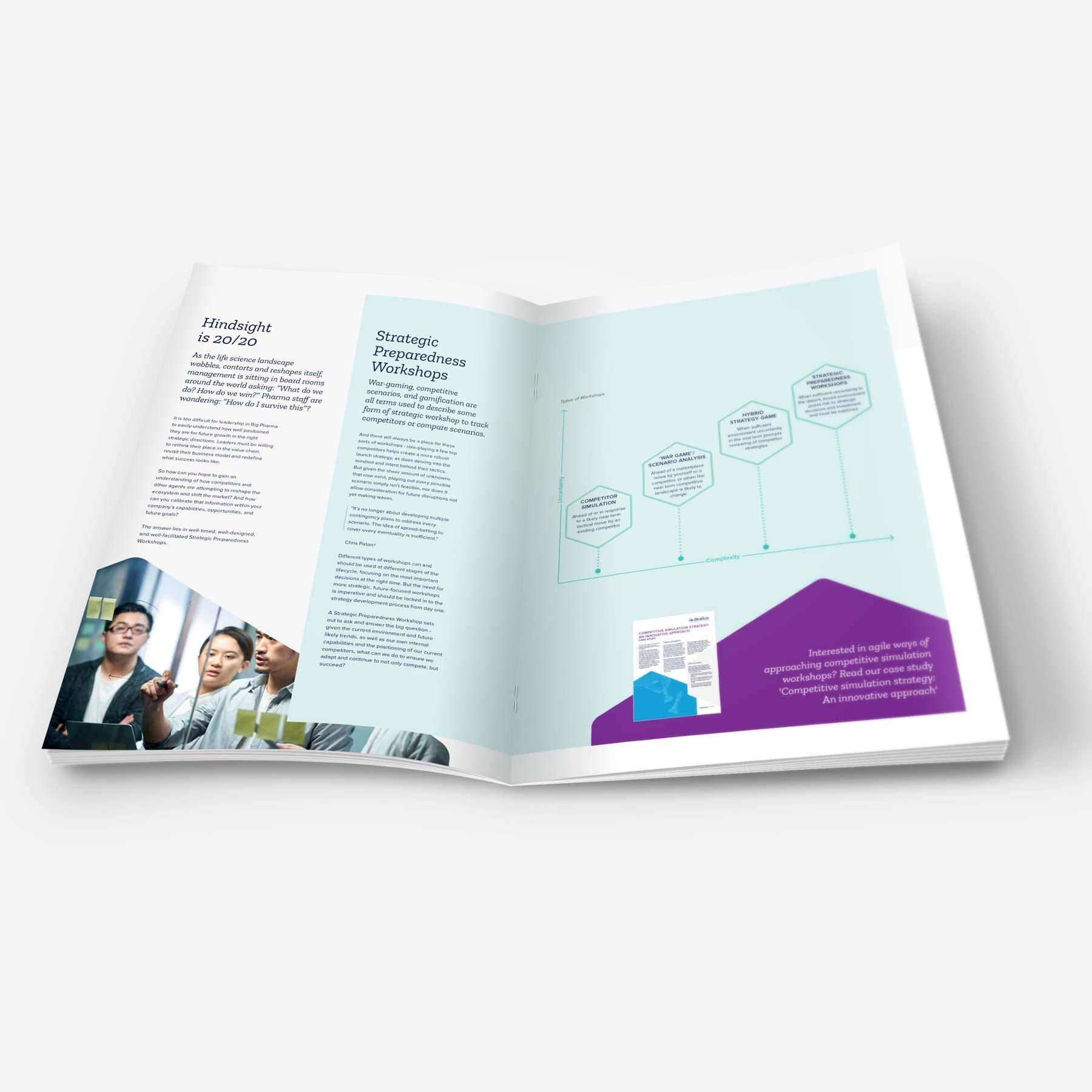 Deallus White Paper Design