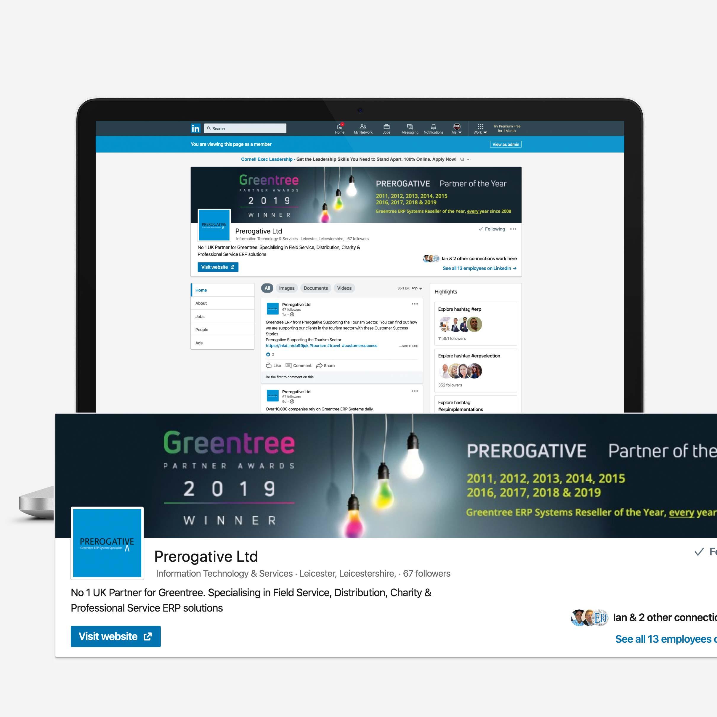 Prerogative LinkedIn Graphics 2020
